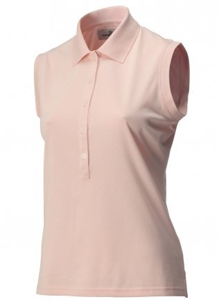 Ashworth Ladies Sleeveless Top Light Pink Large