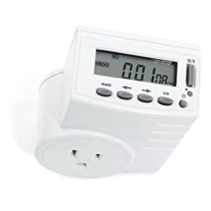 Indoor Electronic Programmable Plug-In Timer with Top LCD (High Wattage)