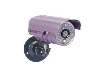 Syl-4002 Ntsc System 1/4 'Sharp Color Ccd 36 Ir Led 420Tvl Water Resistant And Night Vision Security Camera (Purple)