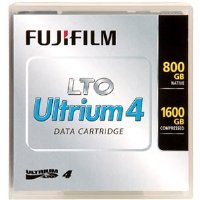Fuji® LTO Ultrium 4 Data Cartridge, 800 GB/1600 GB Capacity, 12.65 mm, 820 m