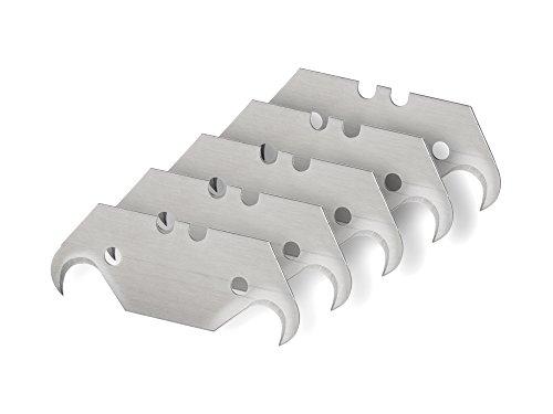 TEKTON 6922 Hook Utility Knife Blades, 5-Piece