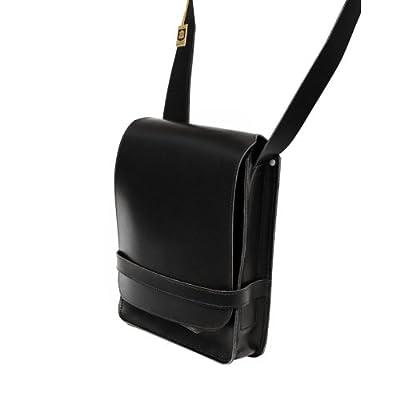 Jahn-Tasche - sac à bandoulière A4 format portrait / besace A4 format portrait modèle 685 cuir véritable