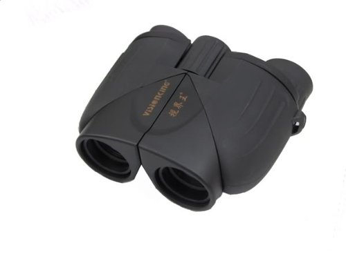 Visionking 10X25 Porro Outdoor Camping/Hunting/Travelling Black Binoculars Telescopes Gift Color Black