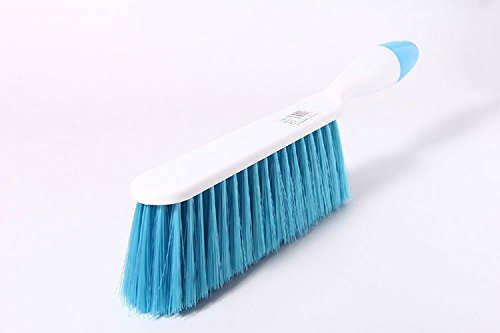 CoolHome Bed Sheets Debris Cleaning Brush Soft Bristle Clothes Desk Sofa Dust Small Particles Hair Remover (Blue) (Hair Brush Sheet compare prices)