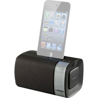 Pyle Home Pipdsp20 Audio Docking Portable Speaker System For Ipod/Itouch And Iphone