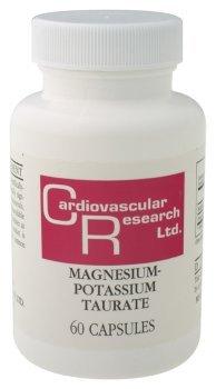 Cardiovascular Research - Magnesium-Potassium Taurate, 60 capsules