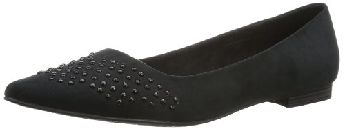 Marco Tozzi Premio Womens 2-2-24210-22 Slipper Black Schwarz (BLACK 001) Size: 37