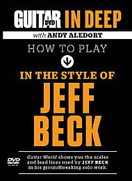 Guitar World: How to Play in Style of Jeff Beck [DVD] [Import]