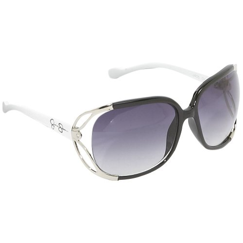 Jessica Simpson Women's J405 Sunglasses,Black