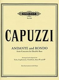 Andante And Rondo - From Concerto For Double Bass PDF