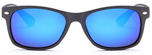 7265f54acfe GAMMA RAY CHEATERS Best Value Polarized UV400 Wayfarer Style Sunglasses  with Mirror Lens and Multi P