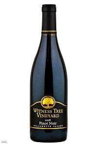 Witness Tree Vineyard Pinot Noir Vintage Select 2010 750Ml