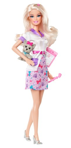 Barbie I Can Be... Pet Vet Doll - New 2012 Version (Barbie I Can Be Vet compare prices)