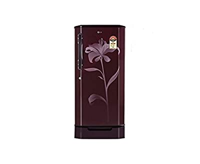 LG GL-D225BSLL Direct-cool Single-door Refrigerator (215 Ltrs, 4 Star Rating, Scarlet Lily)