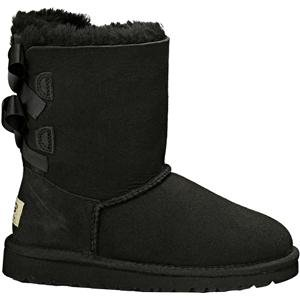 UGG UGG Australia Girl's Bailey Bow, Black 6 M US Toddler