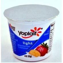 Amazon.com : Yoplait Light Strawberry Banana Yogurt, 4 ...