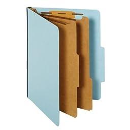 GLOBE-WEIS Colored Classification Folder (PU5615LBL)
