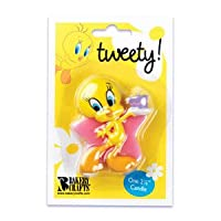 Tweety Bird Cake Decorating Birthday Candle
