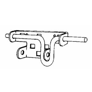 Images for Century Spring Corp Regular Slide Bolt Gd-02 Garage Door Hardware
