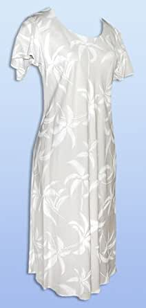 wedding white hawaiian tank dress