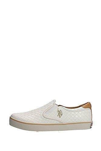 U.S. Polo Assn. GALAN4154S5/Y1Slip-on Uomo, (Creamy-white), 45