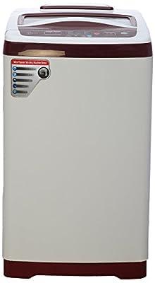 Videocon VT62G13 Digi Pearl Dlx Fully-automatic Top-loading Washing Machine (6.2 Kg, Glossy White)