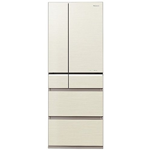 パナソニック 501L 6ドア冷蔵庫(シャンパンゴールド)Panasonic エコナビ NR-F511PV-N