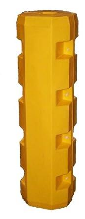 "Dixie Poly BS-3 Slim Column Protector for 3"" Column, Polyethylene, 12"" Outside Diameter, 42"" Height"