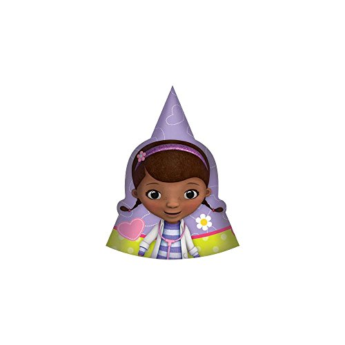 Doc McStuffins Paty Hats 8 Ct.
