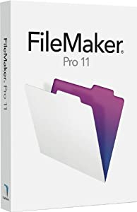 Filemaker Pro 11 Upgrade [Old Version]