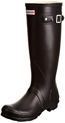 Hunter Original Tall Classic W23499, Unisex-Erwachsene Stiefel, Schwarz (black), EU 35/36 (UK 3)
