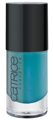 Catrice Cosmetics Ultimate Nail LACOUER Nail Polish - Nr. 880 No Snow Petrol - Farbe: Jade / Blau metallic Inhalt: 10ml Nagellack Nail Polish