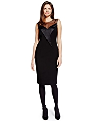 Per Una Speziale Yoke Panelled Shift Dress