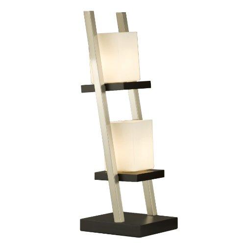 Nova Lighting Escalier Table Lamp, Dark Brown