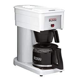 Bunn Deluxe Home Brewer Coffee Maker - White