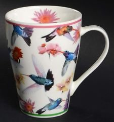 Paul Cardew Bone China Mug Hummingbirds