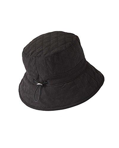 adora-adjustable-quilted-bucket-hat-black-one-size