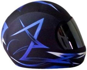 HJC 2018 FG70s Modik Open Face Helmet  White Red Blue