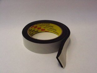 Amazon Com 3m 4504 Black Single Sided Foam Tape 1 4 In