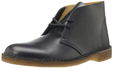 Clarks Desert Boot Mens Black 7-MEDIUM