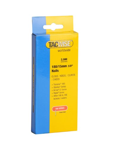 Tacwise 180/15MM 18G Nails (2000)