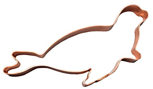 Sea Lion Copper Cookie Cutter