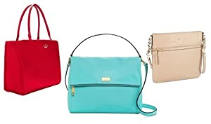 Kate Spade Bag-Cherry Lane/Stacy Vivid Snapdragon Bag