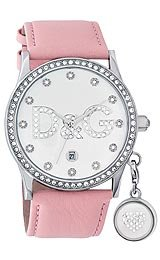 Dolce & Gabbana Gloria Crystal Accents Silver Dial Women's watch #DW0009