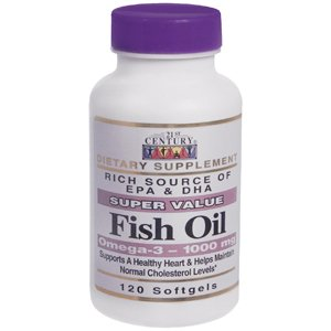 Special Pack Of 5 Fish Oil Omega 3 21St Century 120 Per Pack