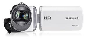 Samsung HMX-F90 HD-Camcorder (52-fach opt. Zoom, 6,9 cm (2,7 Zoll) LCD-Display, HD-Ready) weiß