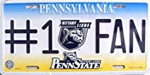 Penn State #1 Fan License Plate