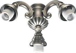 Quorum Bakersfield - Three Light Kit 2371-8092, Antique Silver Finish