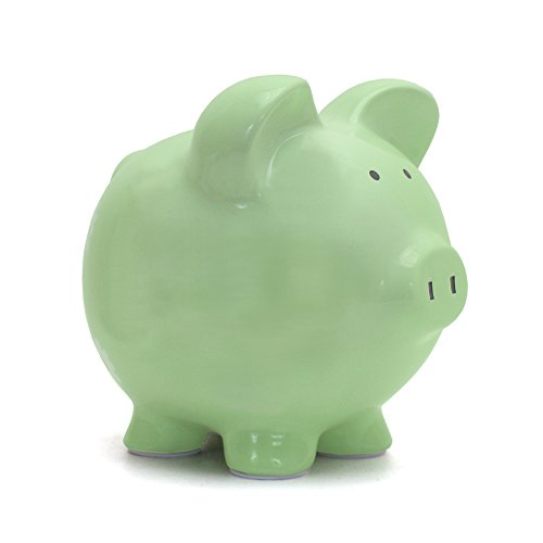 Child to Cherish Piggy Bank, Sage - 1