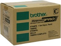 Brother Stamp Black 27 X 70 6 per box (BRTPR2770B6P) (Stamp Brother compare prices)